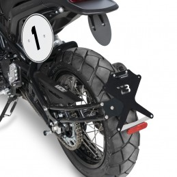 """SUPPORT DE PLAQUE Benelli Leoncino """"SIDE NAKED"""" BARRACUDA"""